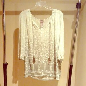 Chico's Size 3 Blouse Top